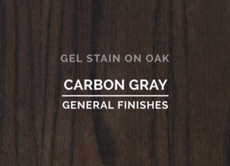 GEL Stain - Carbon Gray (2 sizes)