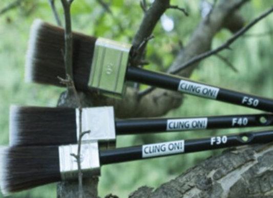 Cling On Brush - Flat 3 Sizes