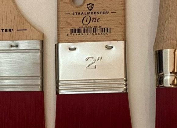 "Staalmeester One Spalter 2"" Brush"