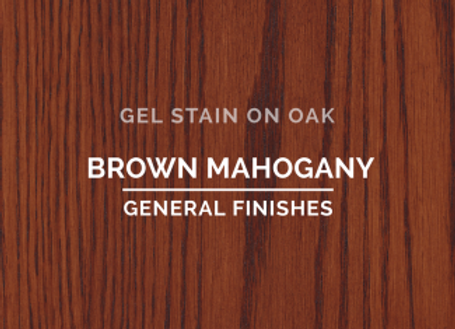 GEL Stain - Brown Mahogany (2 sizes)