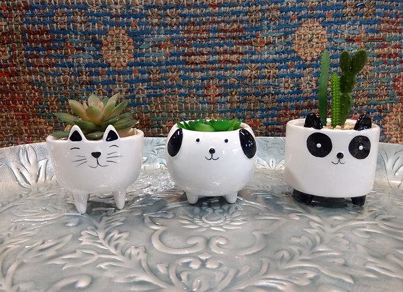 Mini Pet Planters - 3 styles