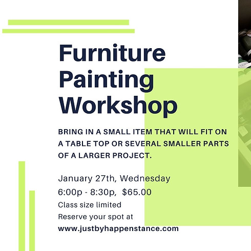 Closed-Furniture Painting Workshop