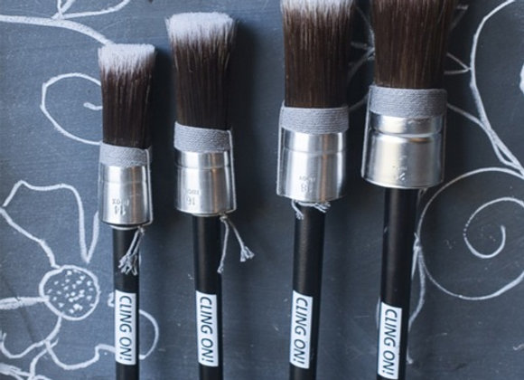 Cling On - Round Brush 4 sizes