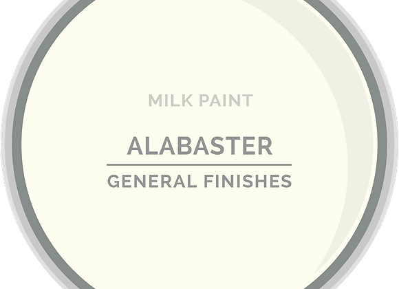 MILK PAINT - ALABASTER, 2 Sizes