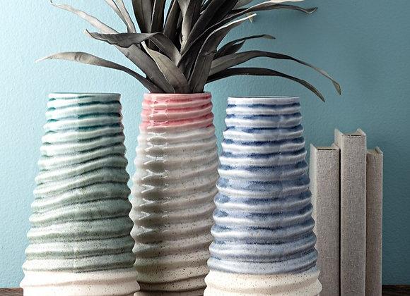 Ella Ceramic Vase-3 colors