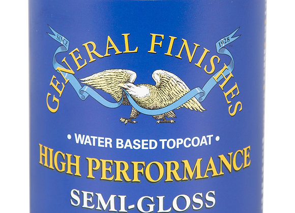 HIGH PERFORMANCE, SEMI GLOSS Water-based Poly- 2 Sizes
