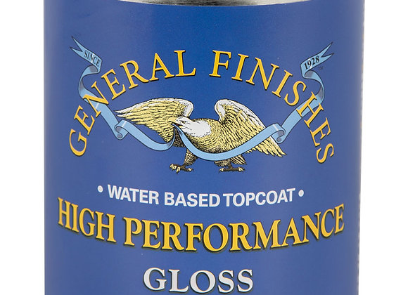 HIGH PERFORMANCE, GLOSS Water-based Poly-Pint