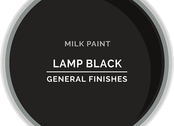 MILK PAINT - LAMP BLACK, 2 Sizes