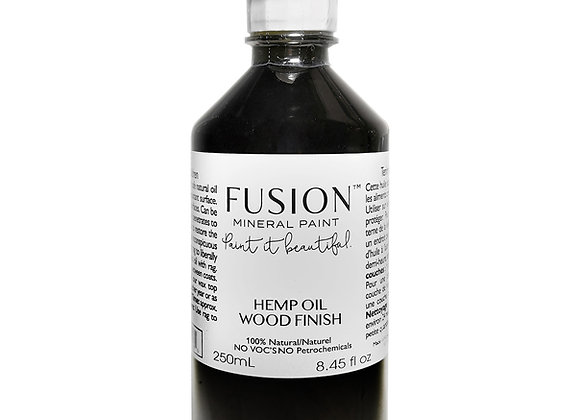 HEMP OIL WOOD FINISH - 2 sizes