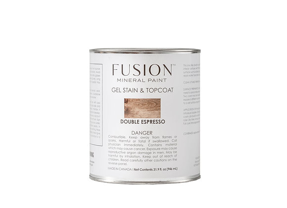 Gel Stain & Topcoat - Double Expresso  31.9 oz