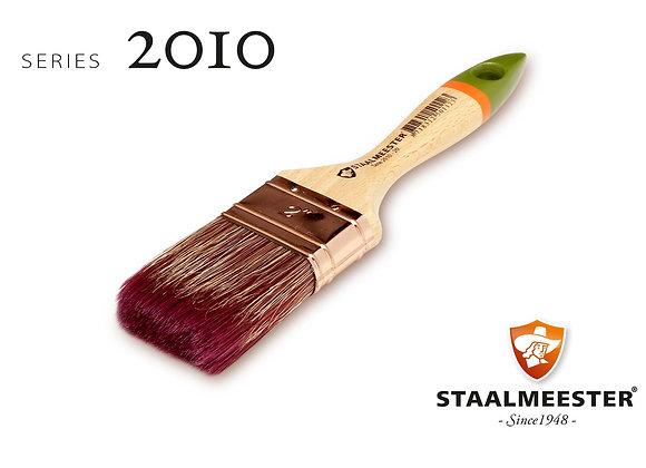 STAALMEESTER FLAT BRUSH SERIES 2010, 3 sizes
