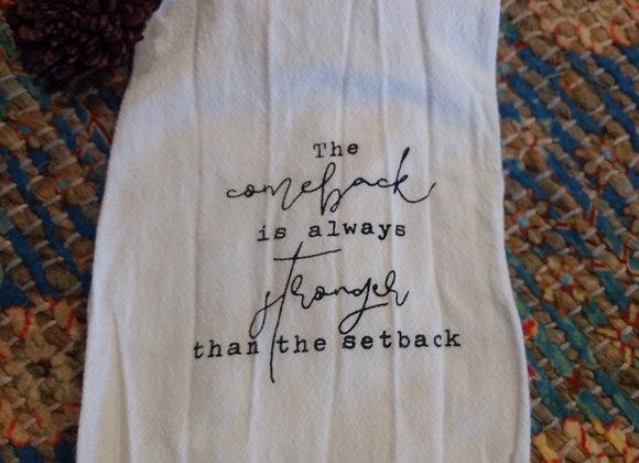 Pazative Cotton Towel - 4 sentiments