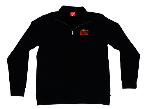Bodega Quarter Zip (Black)