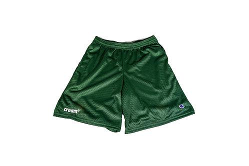 OG Logo Athletic Shorts (Forrest Green/White)