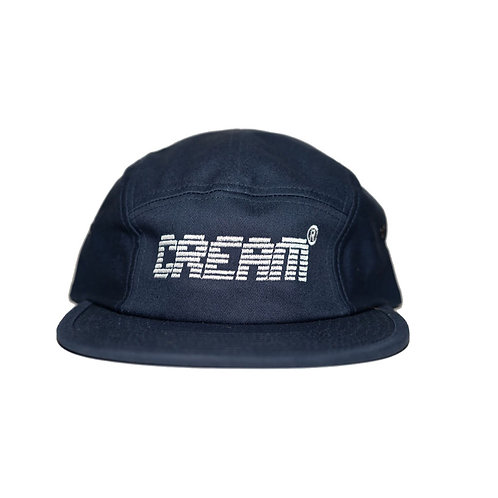 Cream Deep Navy 5 Panel