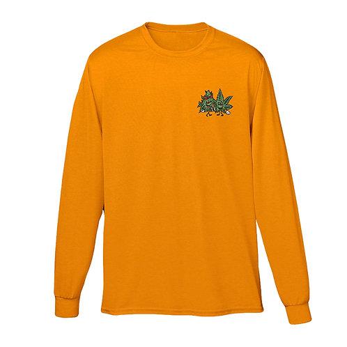 420 Lovers Long Sleeve Tee (Orange)