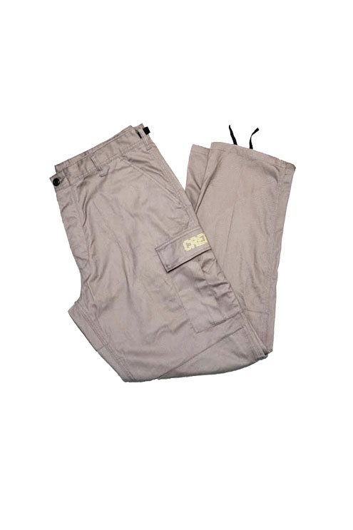 Digital Logo Cargo Pants (Grey/Neon)