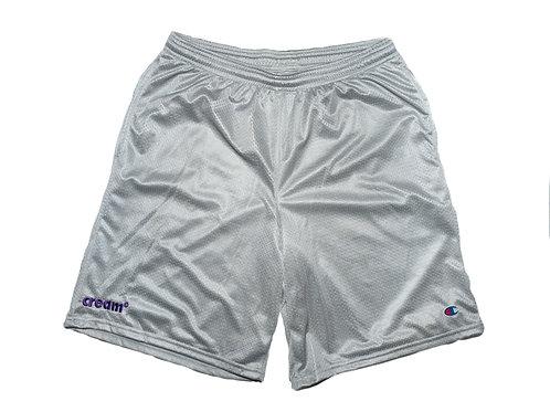 OG Logo Athletic Shorts (Grey/Purple)