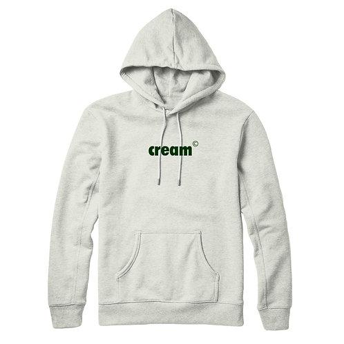 OG Logo Hoodie (White/Forrest Green)