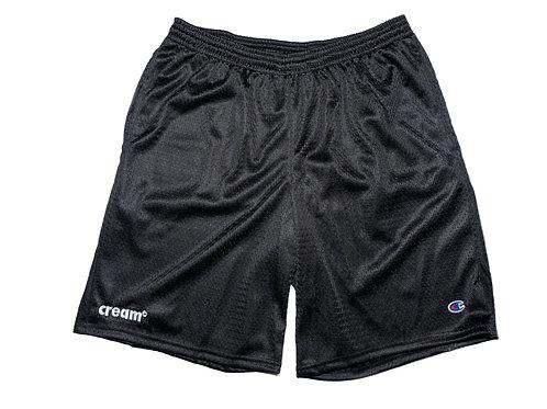 OG Logo Athletic Shorts (Black/White)