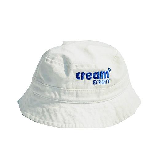 Classic Logo Bucket Hat (White)
