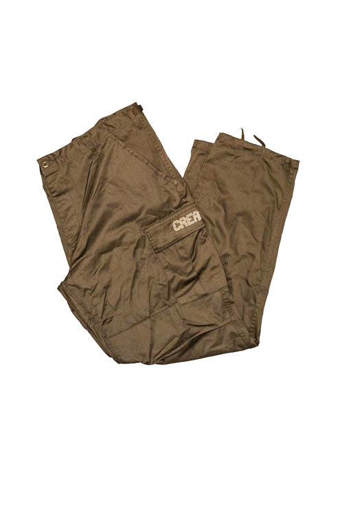 Digital Logo Cargo Pants (Olive/Tan)