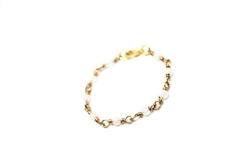 Snow Quartz Elegance Bracelet