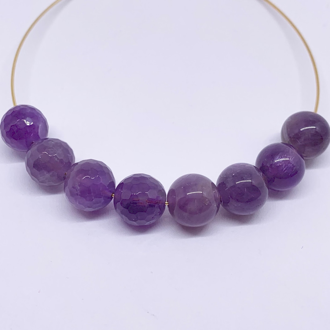 Faceted or Round Amethyst