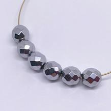 Faceted Titanium Hematite