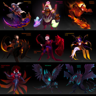 All Skintober Concepts