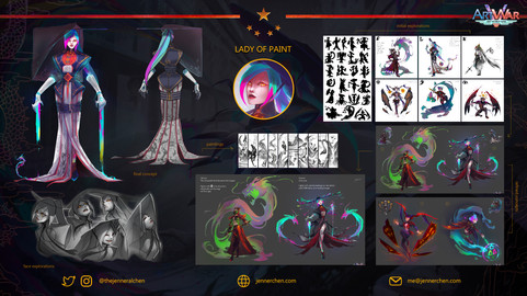 The Lady of Paint (Concept)