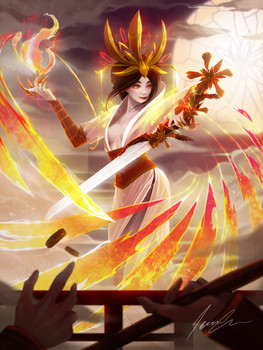 Yanfei (炎妃) - The Fire Dancer
