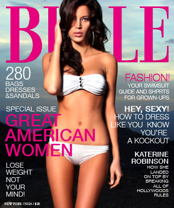 Womans Glossy magazine, dont let the scales define you, the image tree blog