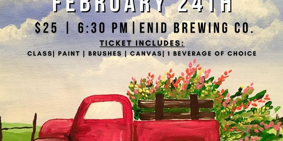 February Paint & Pint Night (1)