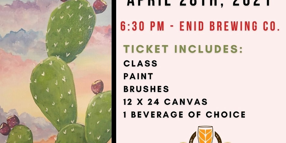 Paint and Pint Night - April