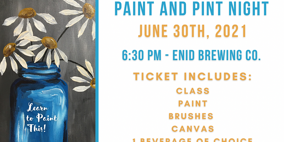 Paint and Pint Night - June