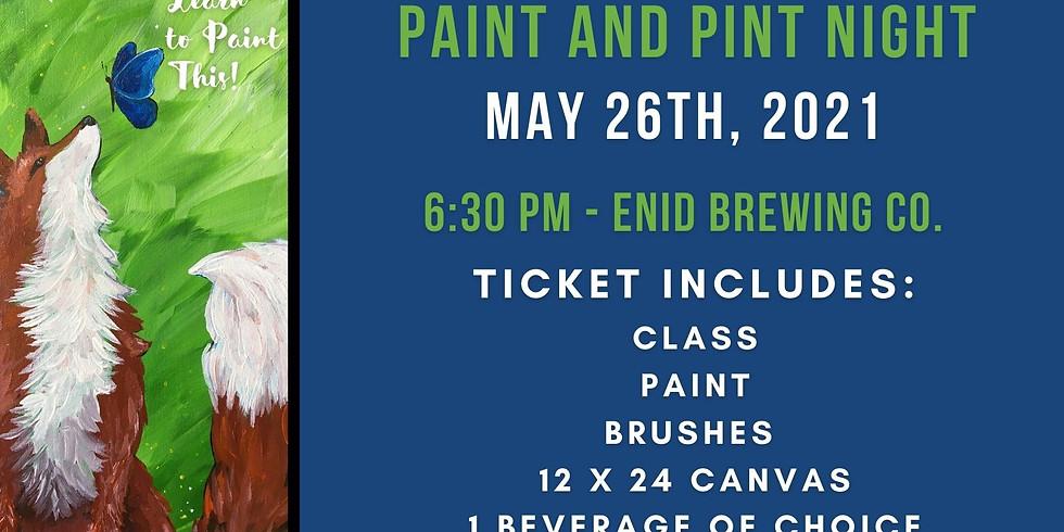 Paint and Pint Night - May