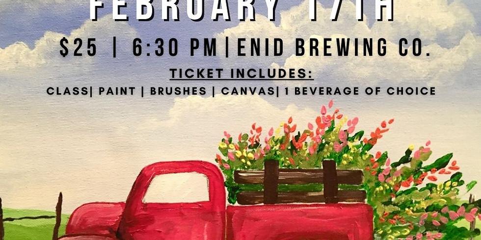 February Paint & Pint Night
