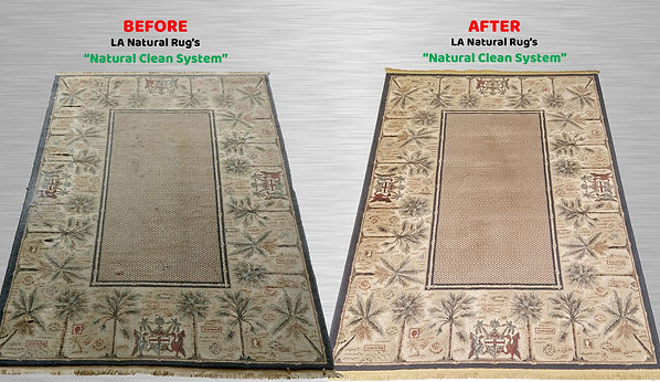 Los Angeles Natural Rug Cleaning and Repair with free pickup and delivery in Calabasas, Malibu, Burbank, Sherman Oaks and Studio City
