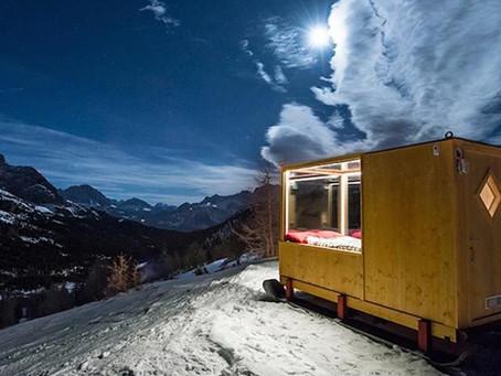 Alpler'in tepesinde bir 'yıldız odası'
