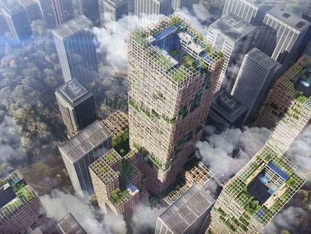 Tokyo tahtadan 350 metrelik gökdelen inşa ediyor!