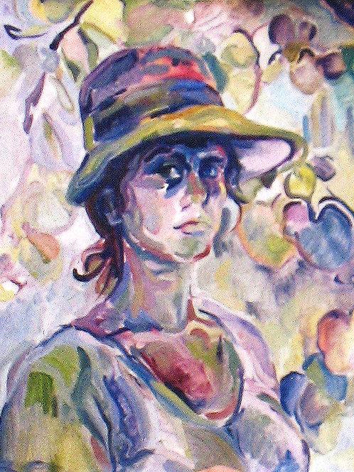 Self Portrait in Provence
