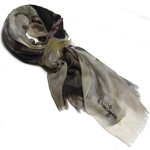tied cashmere scarf made in italy named momentum