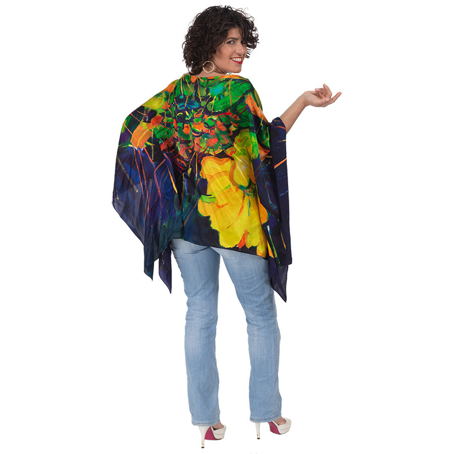 scintillating poncho otello model back.j