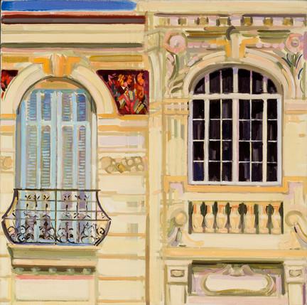 Floral facade