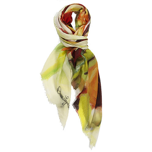 tied large cashmere modal scarf made in italy named freedom