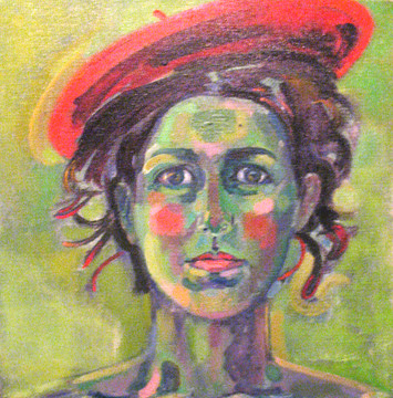 Self portrait beret
