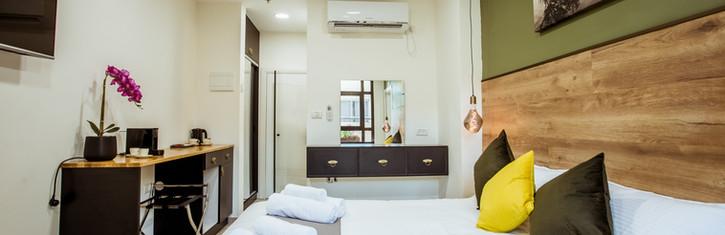 Deluxe Hotel bedroom