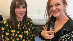 Carole Vanderlinden en Marie Julia Bollansee in Sofie van de Velde Gallery