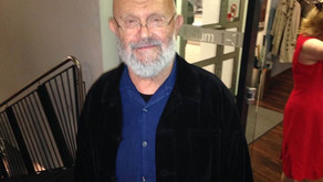 Meeting Jim Dine in Cologne